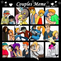 Couples meme fandoms. by kayanne21