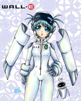 Wall-E EVE Lolicon by kachima