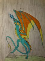 AT: wyvern by cynderplayer