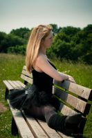 Sitting in the Park by fholger