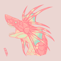 Pastel Plesioth by TheMacronian