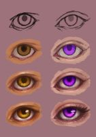 Step-by-step Eyes by eev11