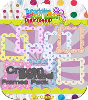 Crayon Dotted Frames Pack by carly-ps