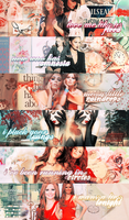 Cheryl Cole banners by revallsay