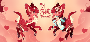 {Babentines Day Auction} - My Sweet Babentine X by PhloxeButt
