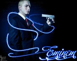 Eminem Wallpaper by roundryan