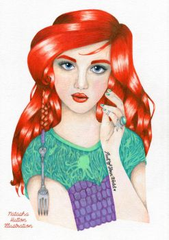 Ariel - Disney's The Little Mermaid by NatashaHutton