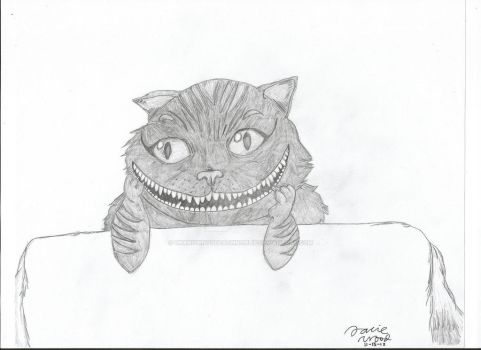 Cheshire Cat--11-15-12 by UnknownToDeathNorLif