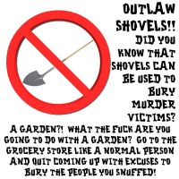 Shovel by crizzlesbuttons