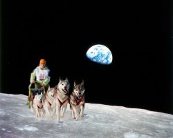 We were on the moon by Pawkeye