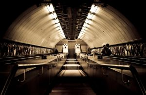 Underground Station by Stegie