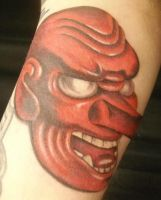 Japanese Mask by kayden7