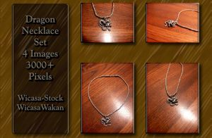Dragon Necklace set by Wicasa-stock