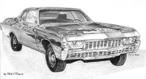 1968 Chevy Biscayne by marmicminipark