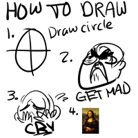 HOW TO DRAW by glitchedgalaxy