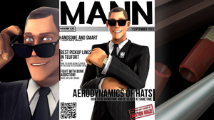 The Mann Magazine vol.5 - The Scout by Miki9559