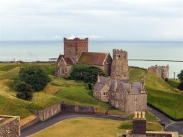 Dover castle 2 by awjay