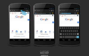 CHROME [ANDROID 5 CONCEPT] by xNiikk