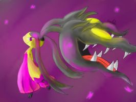 Mega Mawile by FireflyThe5th
