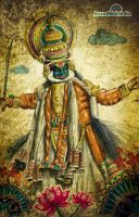 """incredible india"" Kathakali by prasadesign"