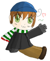 APH OC- Wales in cold day by KathyKid