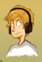 A Pewdie Doodle I Forgot to Upload by 1WebRainbowe1
