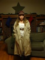 Eponine on Christmas Eve by DarthxErik