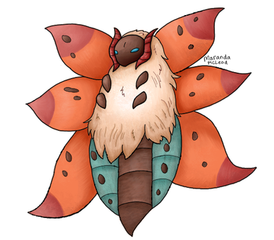 Volcarona by Artistimistic