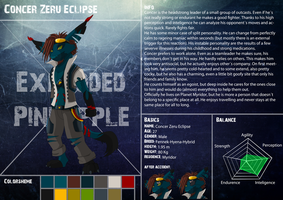 Referencesheet Concer by ExplodedPineapple