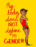 GENDER POSTER #2 by crowry