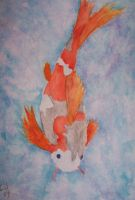 Showa Koi Watercolor2 by calebupah