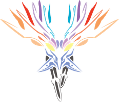 Tribal Xerneas by Katlyon