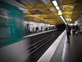 The Parisian Metro by Tiemen-S
