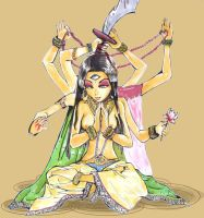 And Indian Goodness colored by Magui-chan