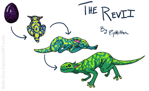 Egg Cave Creature Suggestion - Revii by Roki-Ziro