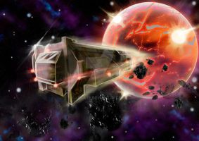 Escape from A Dying Planet by Legate