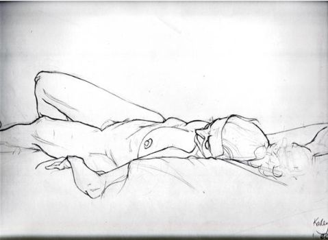 Foreshortening Nude Final by Kauritsuo