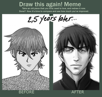 Draw This Again Meme by TiNoSa
