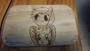 Derpy and Dinky board by XTorbenX