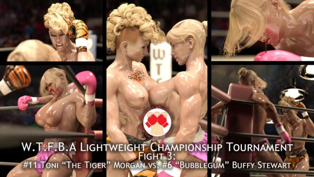 Lightweight Tournament fight #3 Now on Patreon! by AFCombat