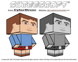 Cubeecraft - Jamie McCrimmon by CyberDrone