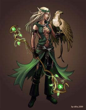 Druid by Okha