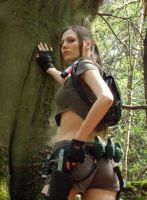 lara Croft - Woodland 4 by BunniKez