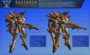 Rasenden Sheet by Setzuo