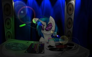 Vinyl Scratch by s4vin