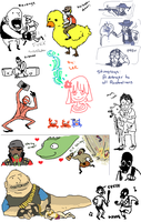 TF2 Scribbles by The-Megy