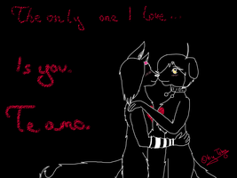 The only one I love is you by AmieAdot