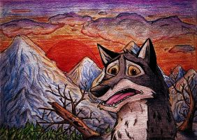 Balto is lost by AmorouxSkiLodge