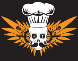 Cooking Skull by TedTonkin