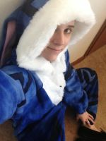 Bunnymund Kigurumi for Cosplay of Comfy Time by Weeaboo-Warehouse